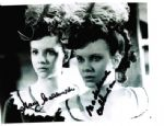 "Mary and Madeline Collinson ""Twins of Evil"" Hammer Horror Genuine Signed Autograph 10x8  2475"
